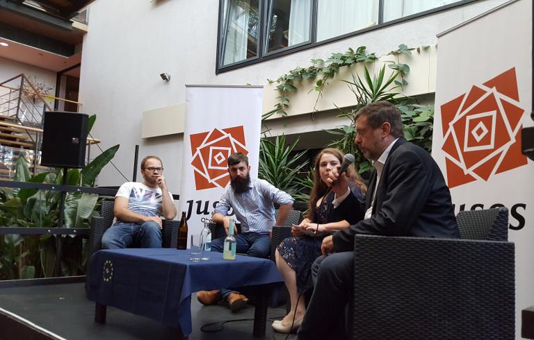 """Podiumsdiskussion """"Europa, wir müssen reden!"""" am 6. Juli"""